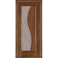 Стекло в двери Анталия 2 белое / бронза