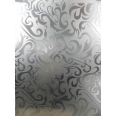 Дамас 4 мм белый / бронза