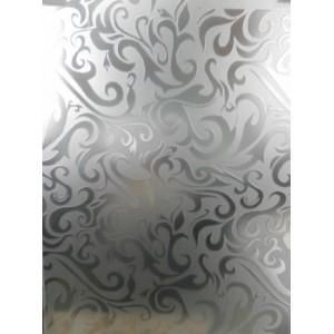 Стекло Дамас 4 мм белый / бронза с доставкой в Киеве