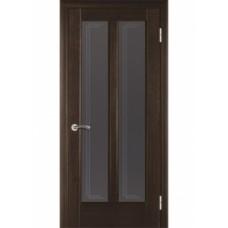 Стекло в двери Дельта белое / бронза